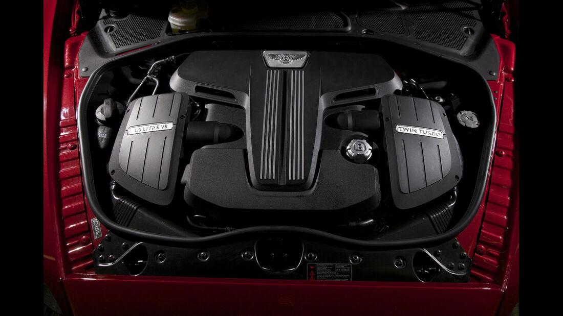 Bentley V8-Motor, Abdeckung