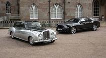 Bentley V8-Motor Bauende