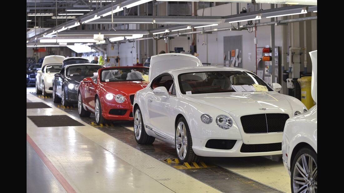 Bentley will die Anzahl seiner Mitarbeiter am Stammsitz Crewe deutlich erhöhen.