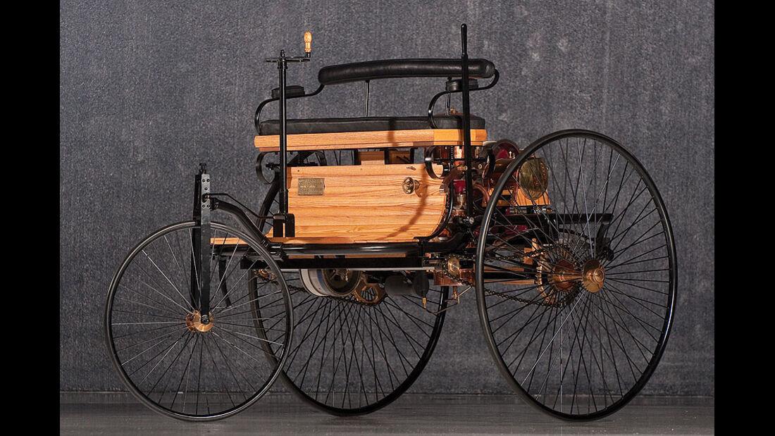 Benz Paten Motor Wagen Replica