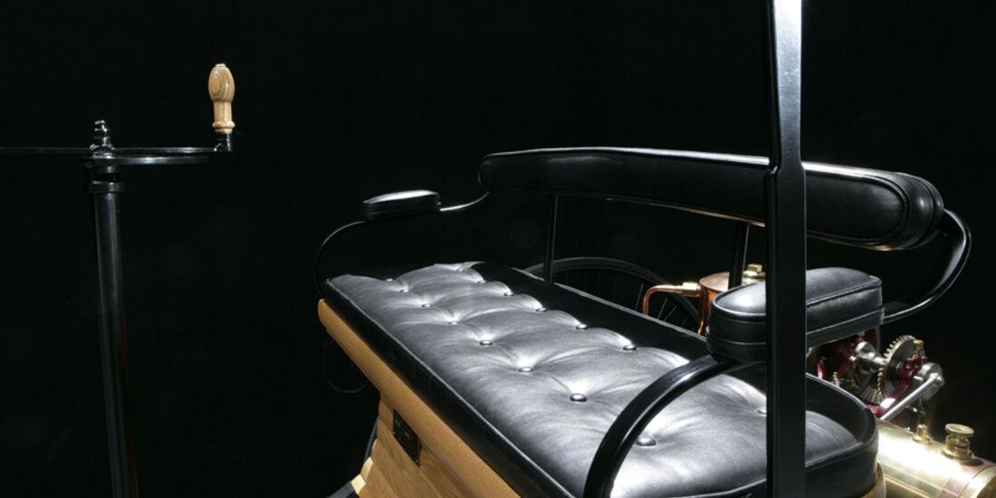 Benz Patent-Motorwagen, Sitze