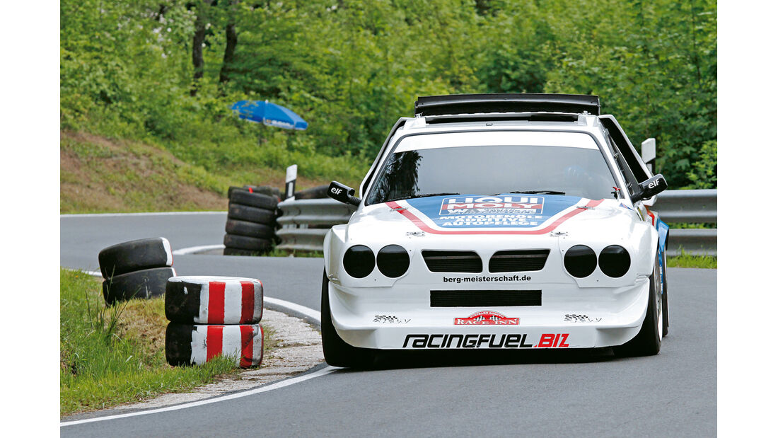 Bergmeisterschaft, Lancia, Allrad