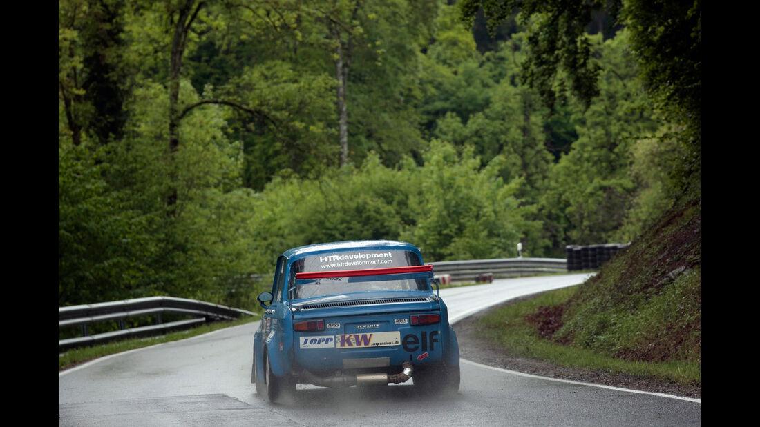 Bergmeisterschaft, Renault, Heckansicht