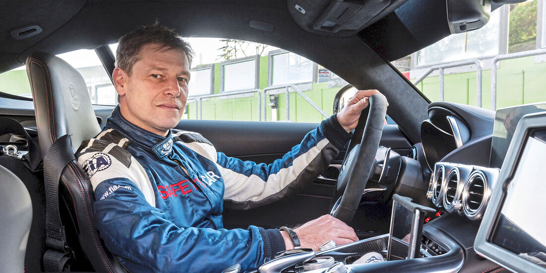 Entrevista a Bernd Mayländer, el piloto del Safety Car de la F1