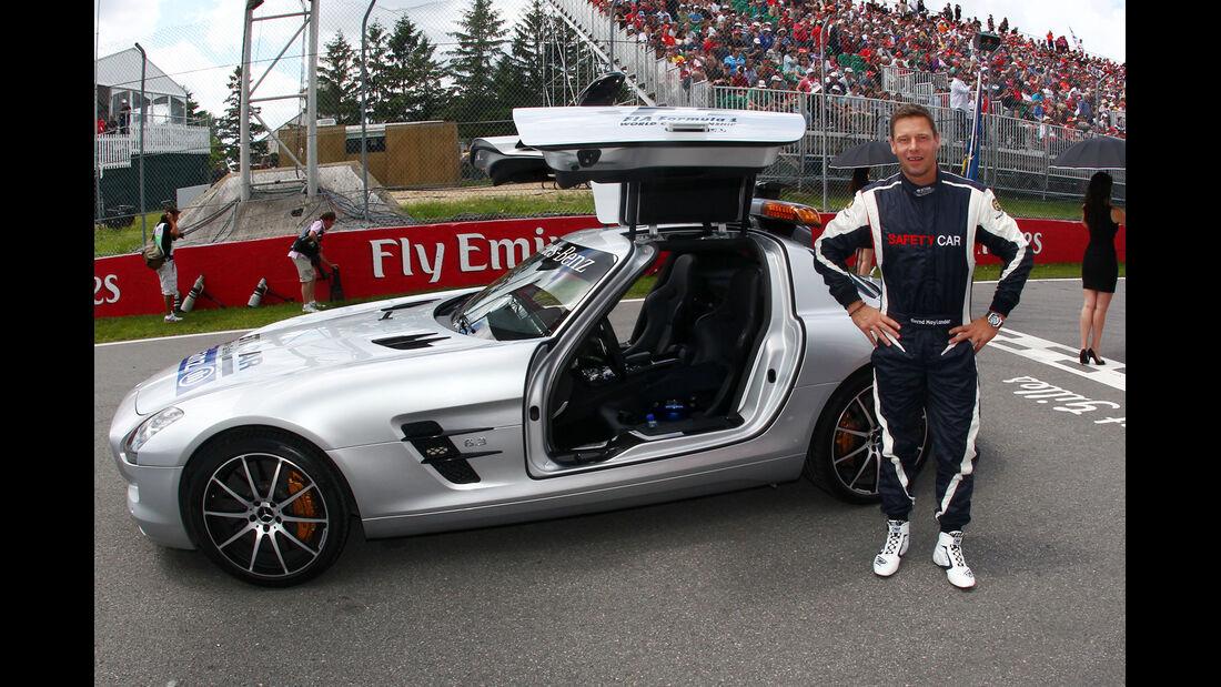 Bernd Mayländer - GP Kanada 2013