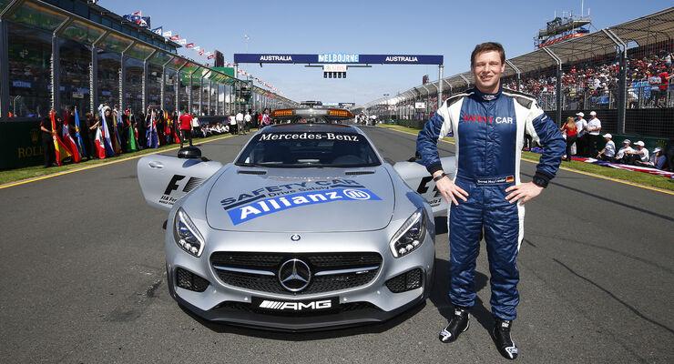 Bernd Mayländer - Safety Car - F1 - 2015