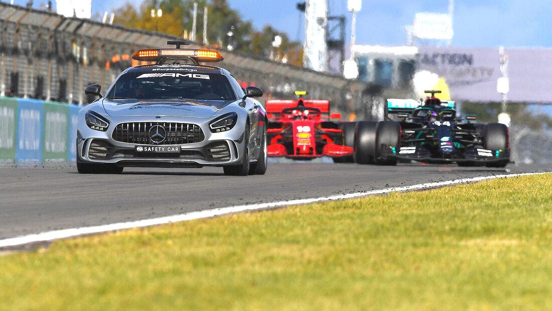 Bernd Mayländer - Safety Car - Mercedes-AMG GT R - GP Eifel 2020 - Nürburgring