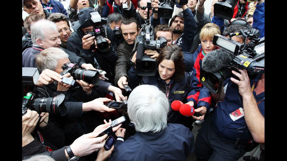 Bernie Eccleston - Formel 1 - GP China - 13. April 2012