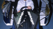 Bernie Ecclestone - Brabham-BMW BT55 Turbo - London 1988