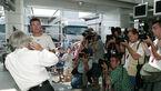 Bernie Ecclestone - David Coulthard - GP Ungarn 2003