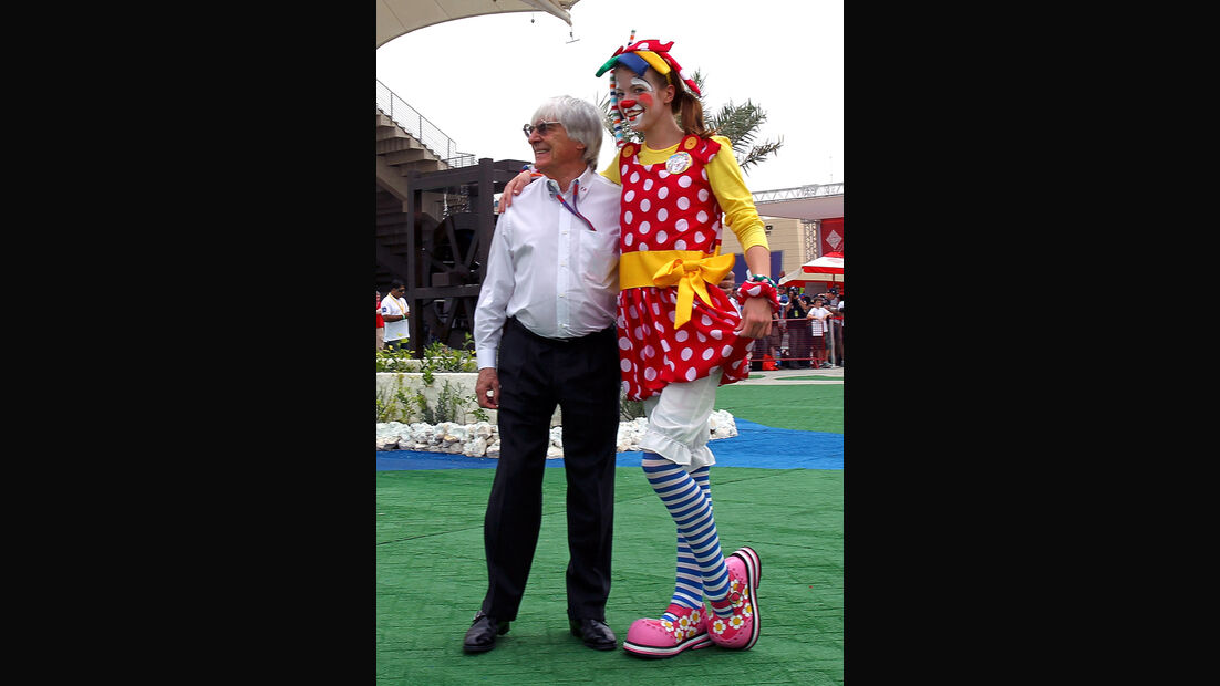 Bernie Ecclestone F1 Fun Pics 2012