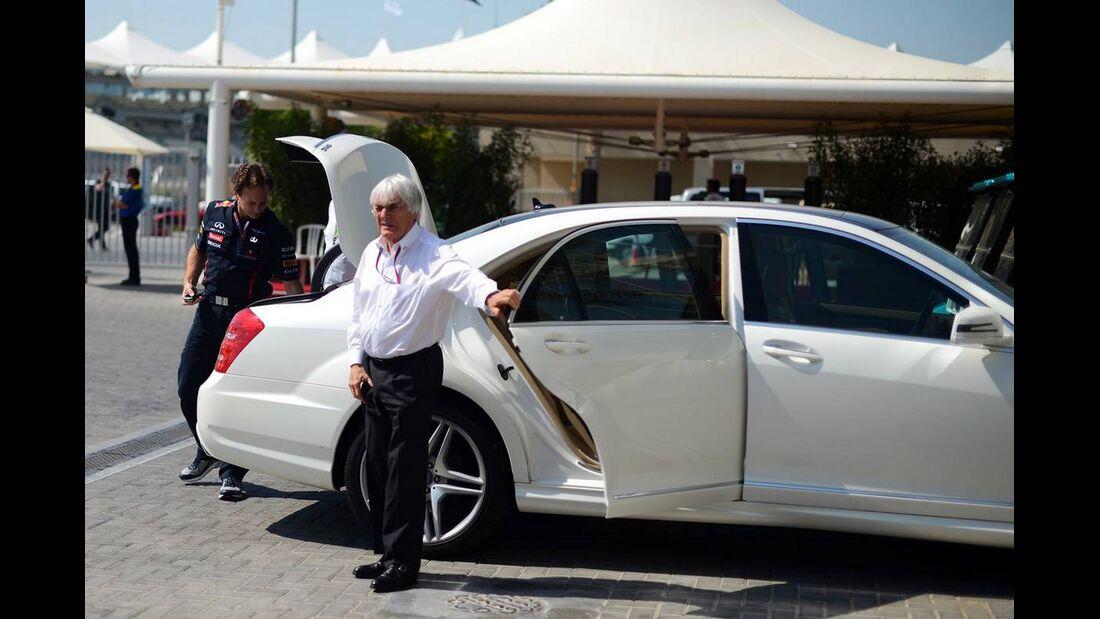 Bernie Ecclestone - Formel 1 - GP Abu Dhabi - 01. November 2012