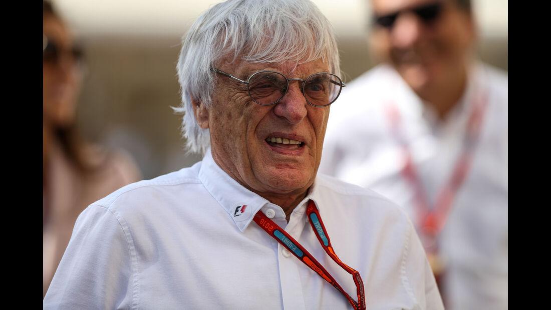 Bernie Ecclestone - Formel 1 - GP Abu Dhabi - 26. November 2016