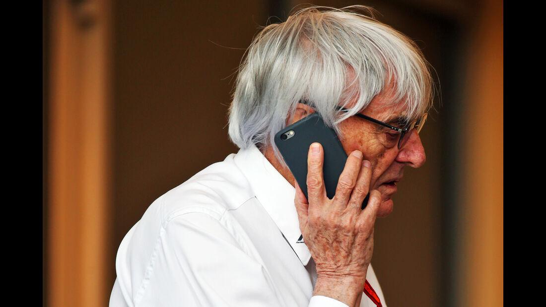 Bernie Ecclestone - Formel 1 - GP Bahrain - 2. April 2016