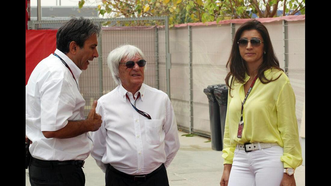 Bernie Ecclestone - Formel 1 - GP Bahrain - 20. April 2013