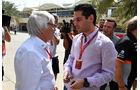 Bernie Ecclestone - Formel 1 - GP Bahrain - Sakhir - Training - Freitag - 14.4.2017