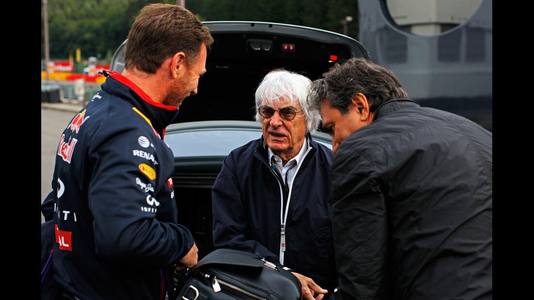 Bernie Ecclestone - Formel 1 - GP Belgien - Spa-Francorchamps - 22. August 2014