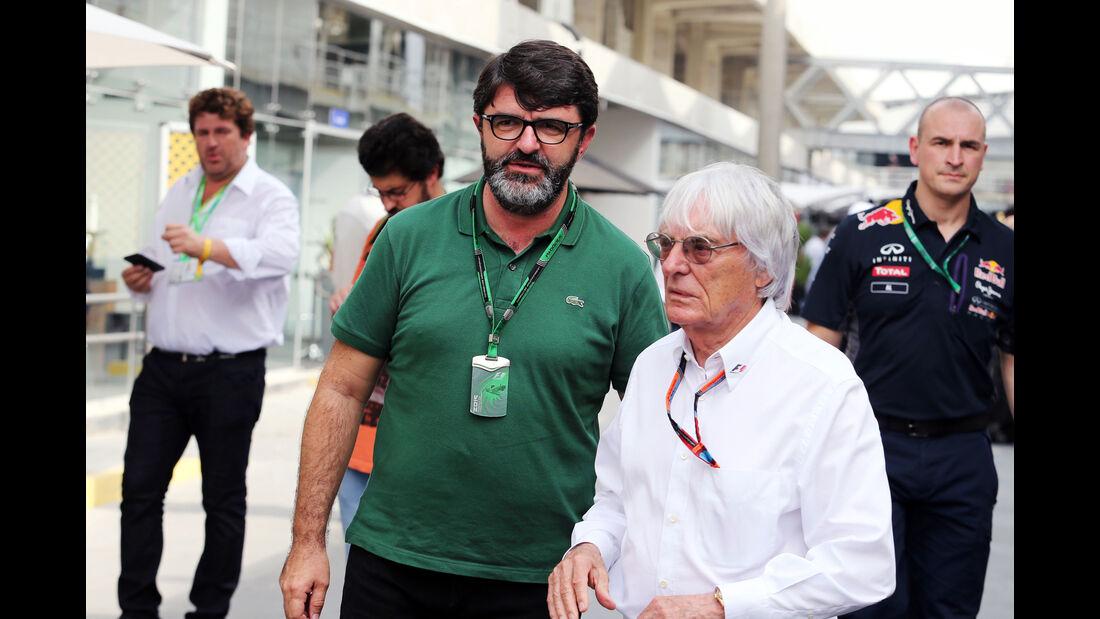 Bernie Ecclestone  Formel 1 - GP Brasilien- 13. November 2015
