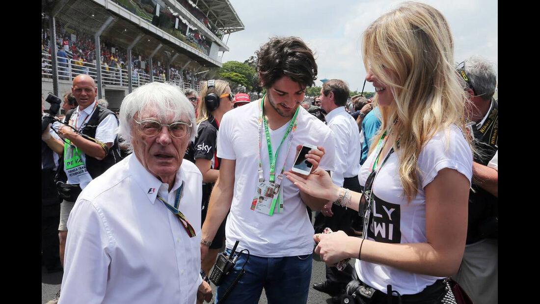 Bernie Ecclestone - Formel 1 - GP Brasilien - 9. November 2014