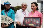 Bernie Ecclestone - Formel 1 - GP China - 14. April 2012
