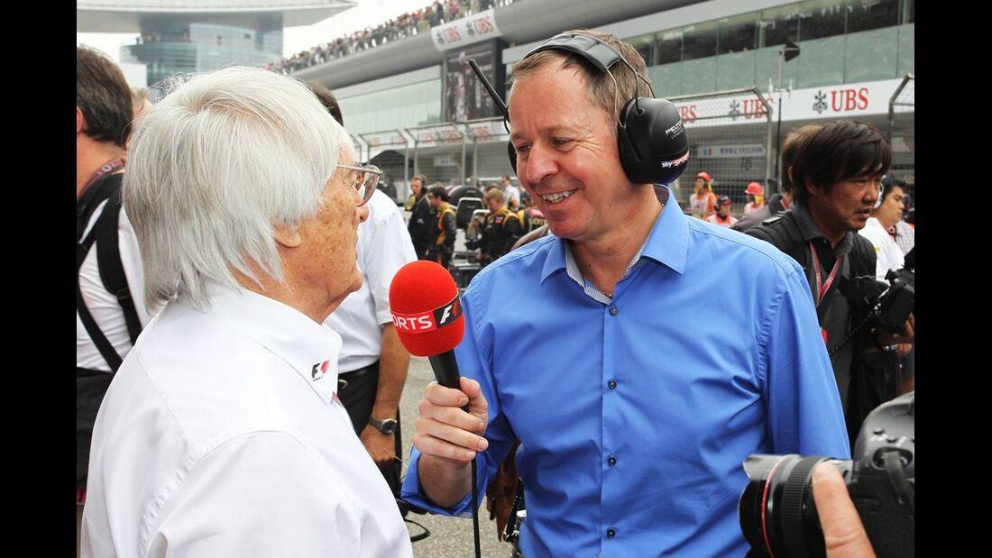 Bernie Ecclestone  - Formel 1 - GP China - 15. April 2012