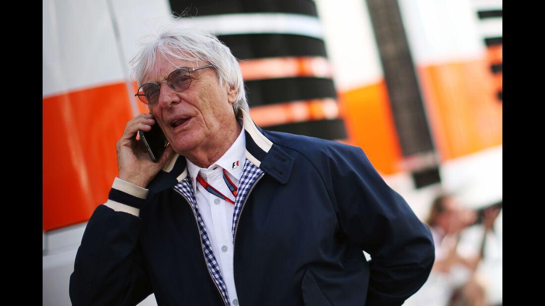 Bernie Ecclestone - Formel 1 - GP Deutschland - 29. Juli 2016