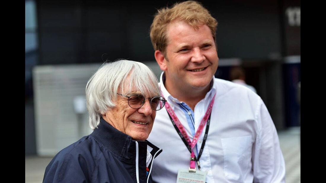 Bernie Ecclestone - Formel 1 - GP England - 29. Juni 2013
