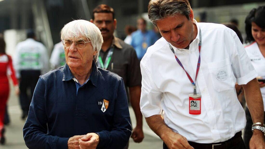Bernie Ecclestone  - Formel 1 - GP Indien - 25. Oktober 2012