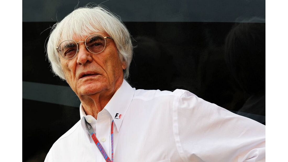 Bernie Ecclestone - Formel 1 - GP Italien - 08. September 2012