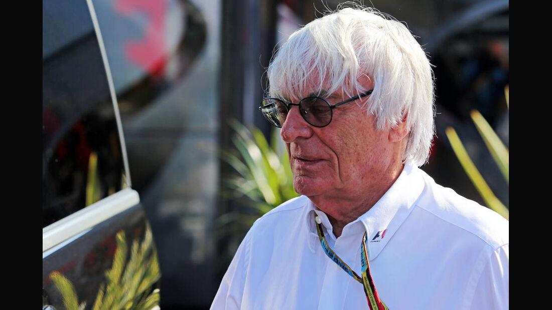 Bernie Ecclestone - Formel 1 - GP Italien - 6. September 2014