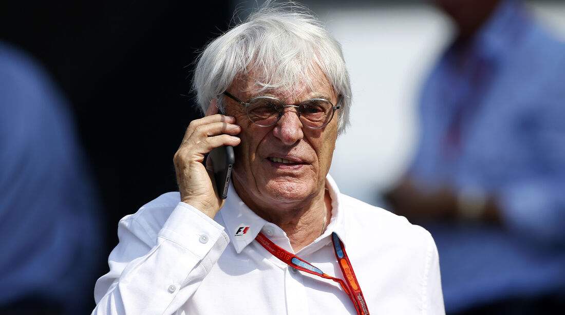 Bernie Ecclestone - Formel 1 - GP Italien - Monza - 2. September 2016