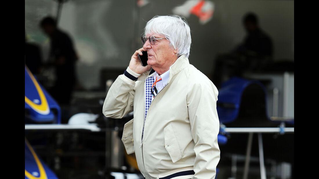 Bernie Ecclestone - Formel 1 - GP Mexico - 29. Oktober 2015