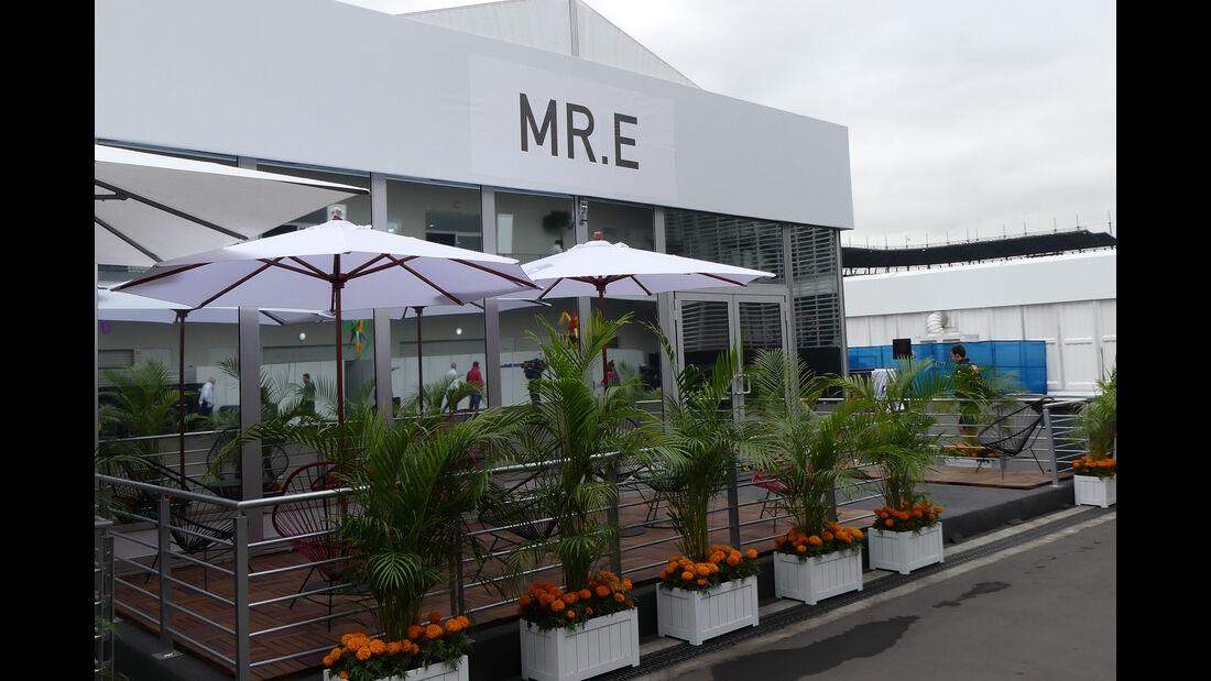 Bernie Ecclestone - Formel 1 - GP Mexiko - 28. Oktober 2016