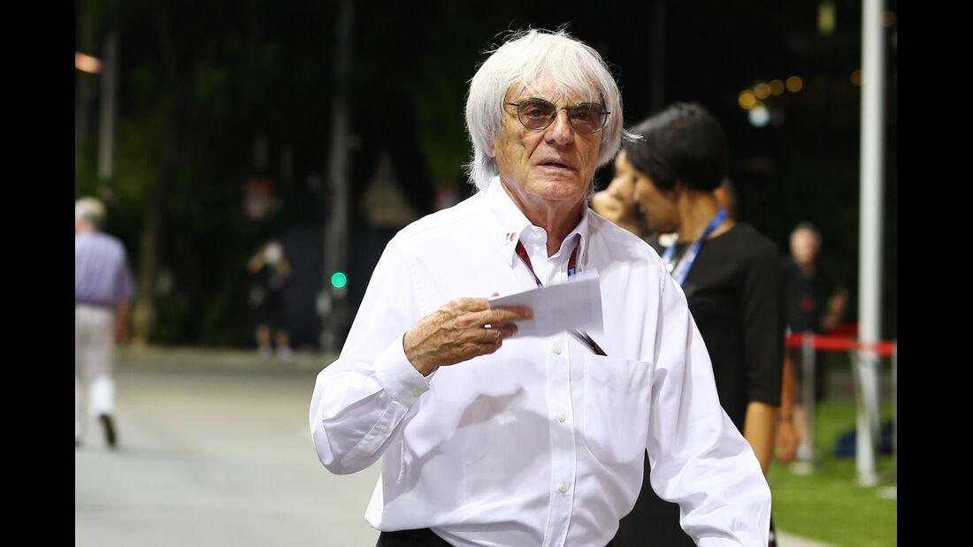 Bernie Ecclestone - Formel 1 - GP Singapur - 21. September 2013
