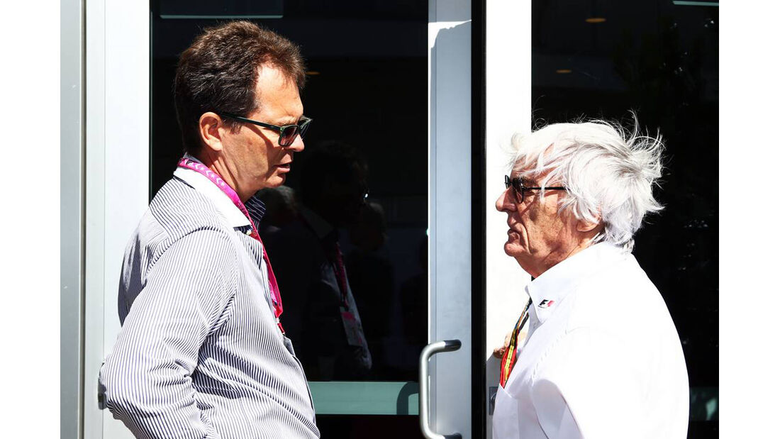 Bernie Ecclestone  - Formel 1 - GP USA - 31. Oktober 2014