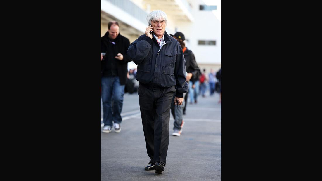 Bernie Ecclestone - Formel 1 - GP USA - Austin - 17. November 2012