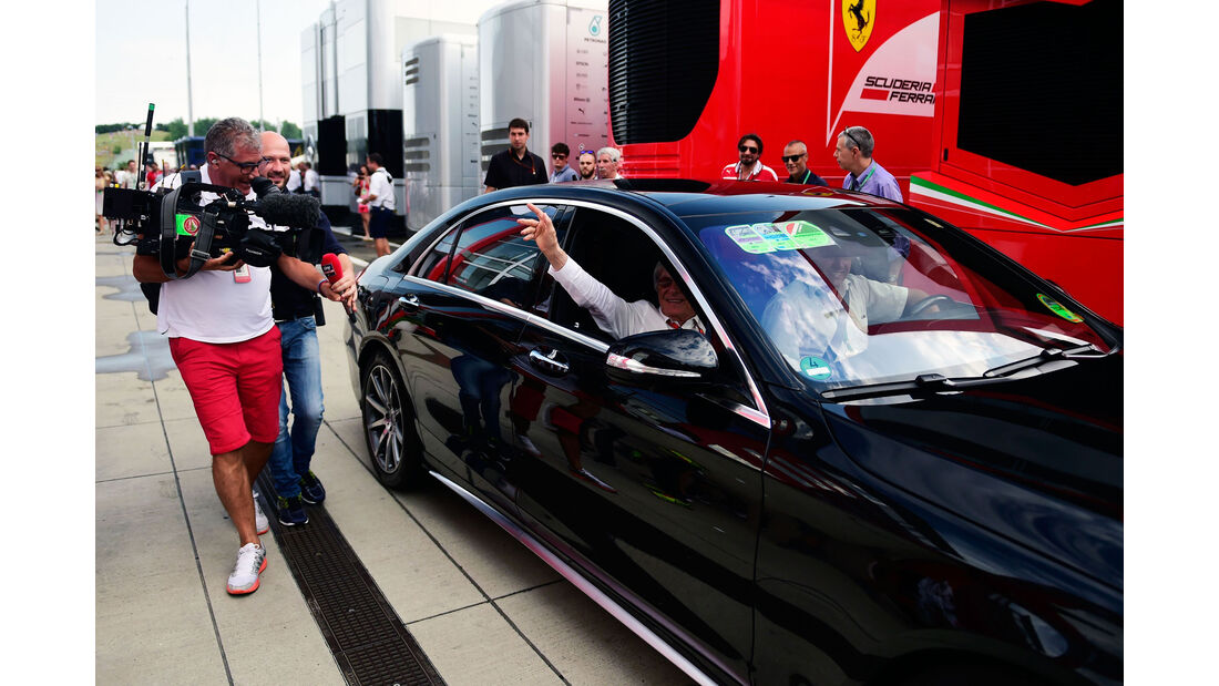 Bernie Ecclestone - Formel 1 - GP Ungarn - 23. Juli 2016