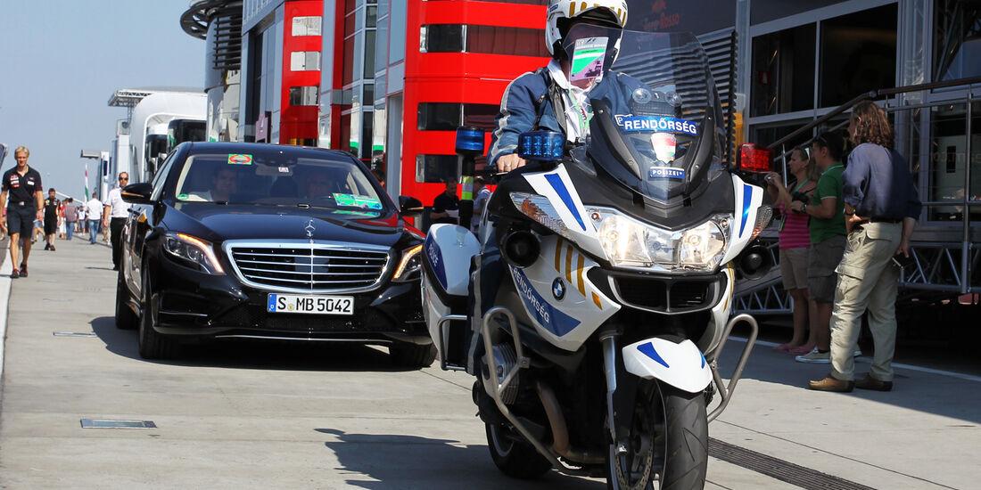 Bernie Ecclestone - Formel 1 - GP Ungarn - 27. Juli 2013