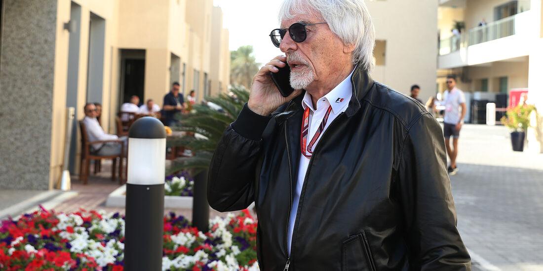 Bernie Ecclestone - GP Abu Dhabi - Formel 1 - 23. November 2018