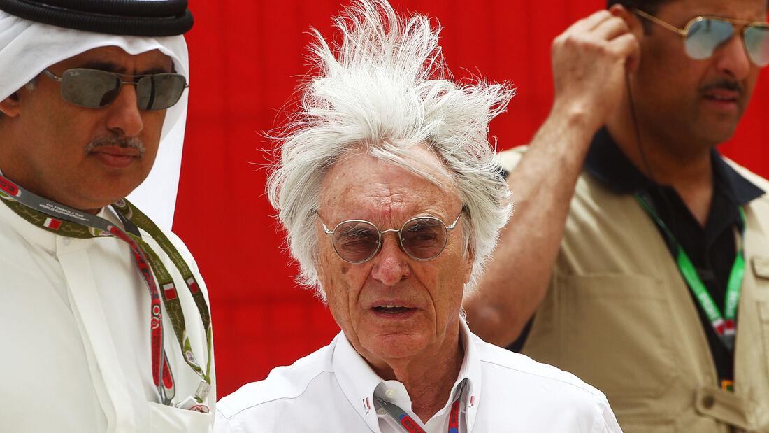 Bernie Ecclestone GP Bahrain 2012