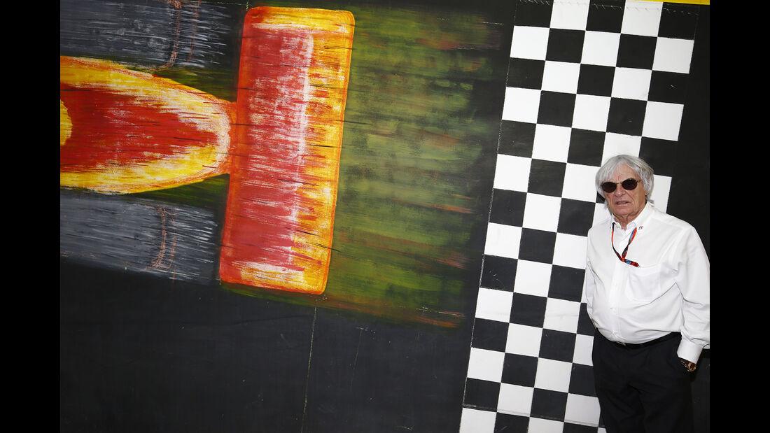 Bernie Ecclestone - GP Bahrain 2015