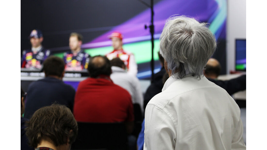 Bernie Ecclestone - GP Brasilien 2013