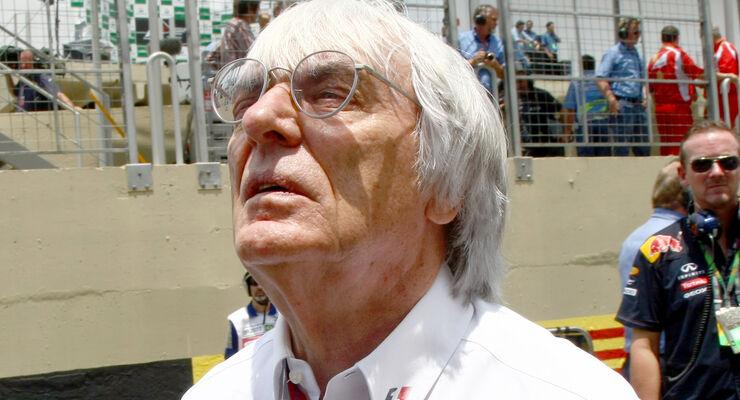 Bernie Ecclestone GP Braslien 2011