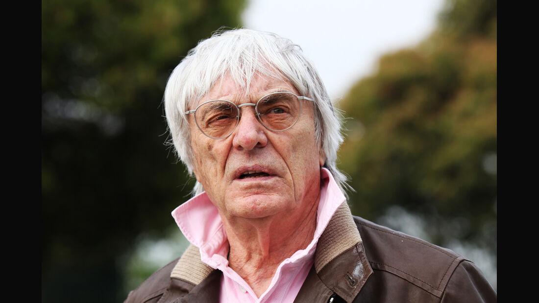 Bernie Ecclestone GP China 2012