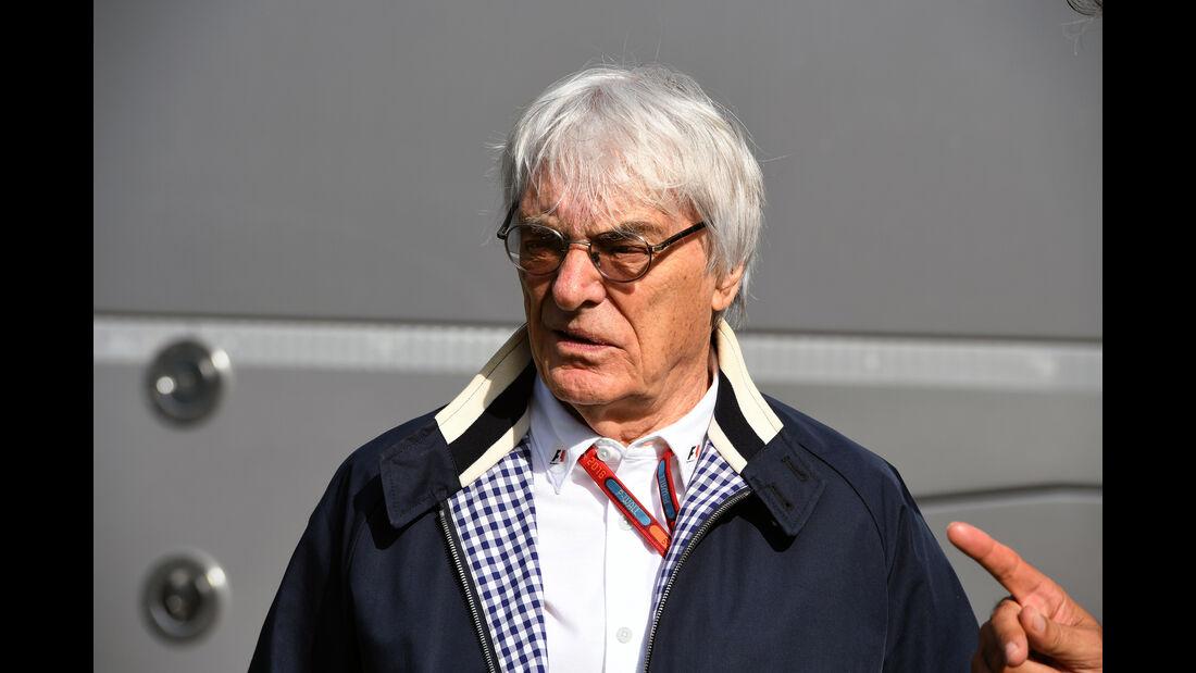 Bernie Ecclestone  - GP Deutschland - Formel 1 - 29. Juli 2016