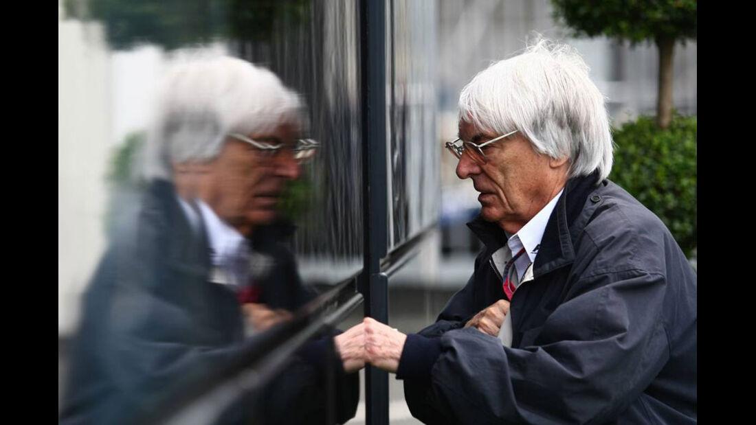 Bernie Ecclestone - GP Deutschland - Nürburgring - 23. Juli 2011