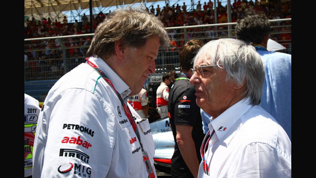 Bernie Ecclestone GP Europa Valencia 2011