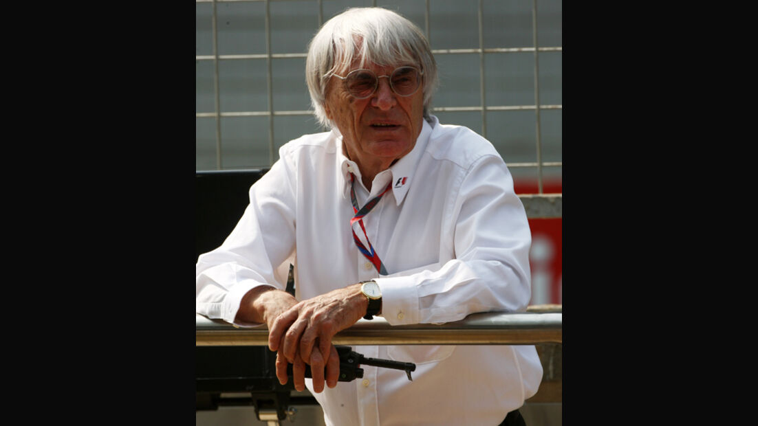 Bernie Ecclestone - GP Indien - Delhi - 29.10.2011