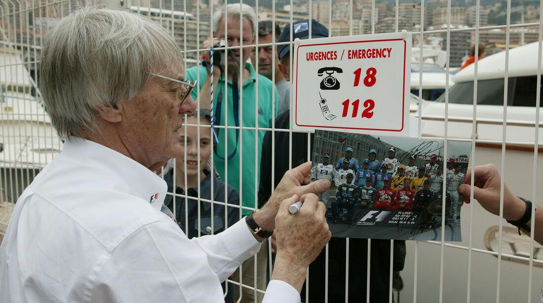 Bernie Ecclestone - GP Monaco 2004