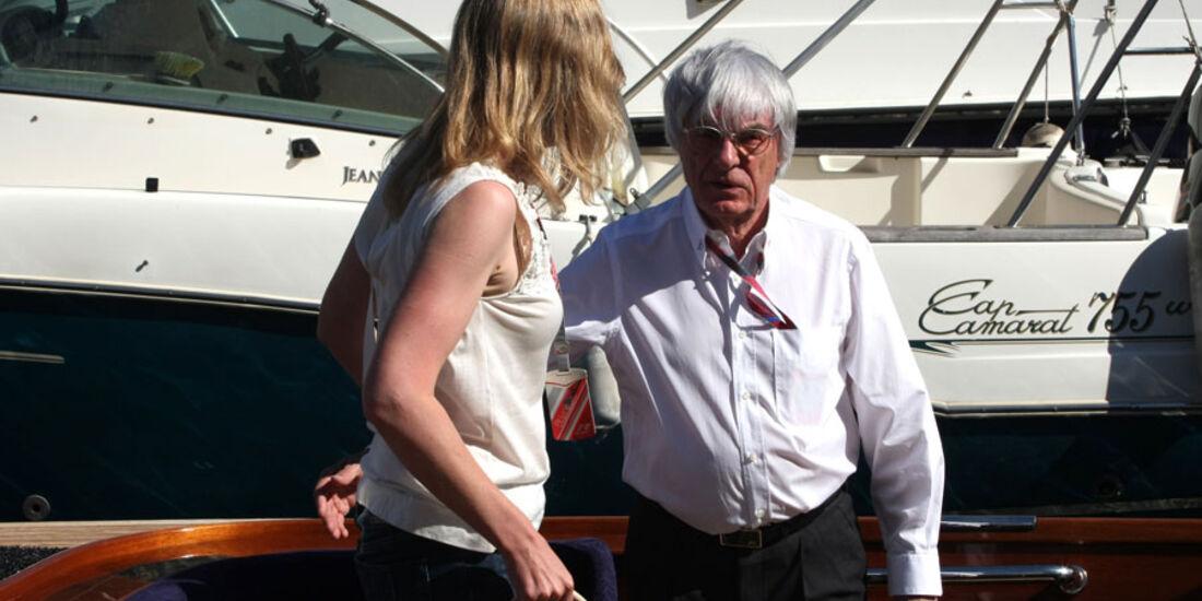 Bernie Ecclestone GP Monaco 2011